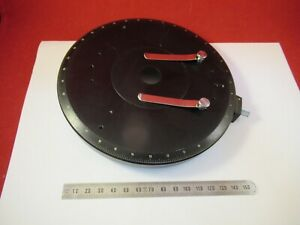 Carl Zeiss Germany Stage Table Rotable Pol Microscope Part As Pictured l1 a 09
