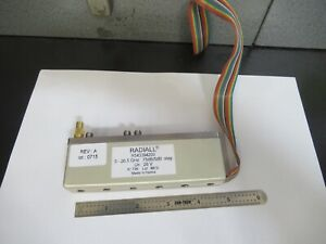 Radiall France 26 5 Ghz Step Attenuator R543394200 Emi Test As Pictured b9 a 02