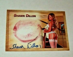 2018 Collectors Expo Model Shawn Dillon Autographed Kiss Card $21.95