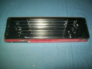 New Snap On Xdhfm606 10 Thru 20 Mm 12 Point Box End Wrench Set Long Zero Offset