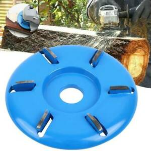6 Teeth Arc Teeth Wood Carving Disc Tool Milling Cutter For Angle Grinder 16mm