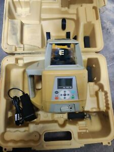 Topcon Rl 100 1s Rechargeable Rotating Single Slope Laser With Batt And Charger