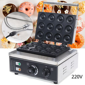 New Mini Donut Electric Maker Machine Home Baker Machine Stainless Steel Makes