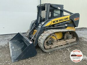 2010 New Holland L185 Track Loader Orops Aux Hyd 1635 Hrs 78 Hp Pre emissions
