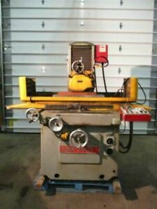 Blohm Simplex 7 Precision Surface Grinder 12 X 28 Two Axis 220vac 3 Ph Used