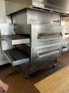 Middleby Marshall Ps360wb 4 Double Stack Conveyor Pizza Oven