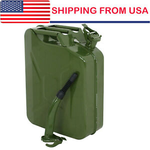 5 Gallon Gas Can Metal Gasoline Container Tank Emergency Backup Diesel New