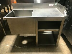 33 1 compartment Stainless Steel Wall Mounted Hand Sink