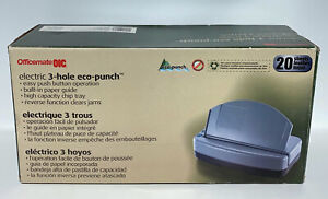 Officemate Eco punch Electric 3 Hole Punch 20 Sheet 90136