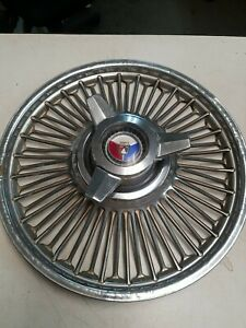 1960 65 Vintage Ford Falcon Mustang Hubcap Wire Spoke Spinner 14 Wheel Cover 4