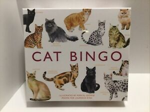CAT BINGO by Marcel George Board Game Magma For Laurence King New Sealed $19.95