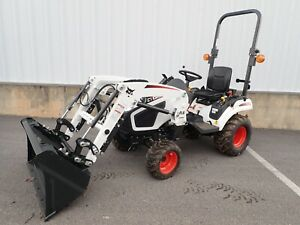 New Bobcat Ct1025 Compact Tractor W Fl7 Front End Loader 4x4 Hydro 24 5 Hp