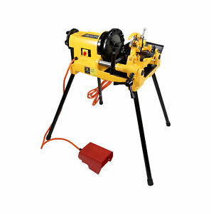 Steel Dragon Tools 300 Compact Pipe Threading Machine Ridgid 815a Compatible