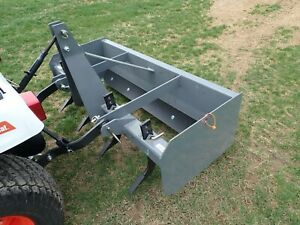 New Titan 3105 Box Blade For Compact Tractors 60 Width Removable Shanks