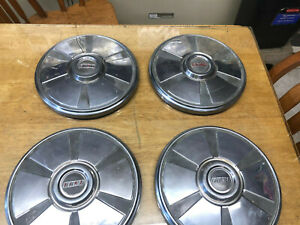 Fiat 124 Spider Hub Caps 4 All Years Oem