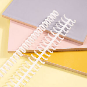 Kw trio 10pcs 30 hole Loose Binders Binding Spines Combs Q3h7