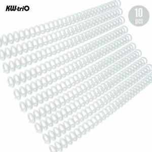 Kw trio 10pcs 30 hole Loose Binders Binding Spines Combs A5m3