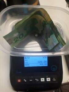 Cashmaster Sigma 105 Money Counter Bill Coin Currency Weight counting Machine
