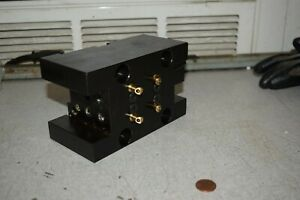Evermore Dw300 c25 4x2 75 Tool Holder Block For Nakamura Tome Cnc