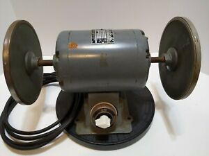 Buehler No 39 1450 Ab Emory Grinder Polisher Deluxe 2 sp Runs Smooth Quiet
