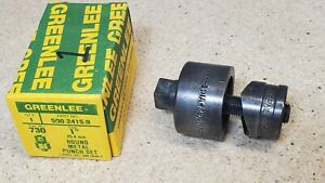 Greenlee No 730 1 Diameter Punch And Die Set Radio Chassis Punch U s a