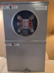 Milbank Uc7446 xl 121 alt 5 Terminal Ringless Meter Socket With Test Switch