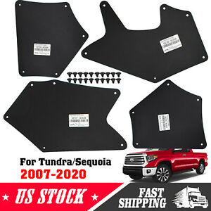 Apron Mudflaps For Toyota Tundra 07 20 Fender Liner Seal Guards Mud Flaps Car