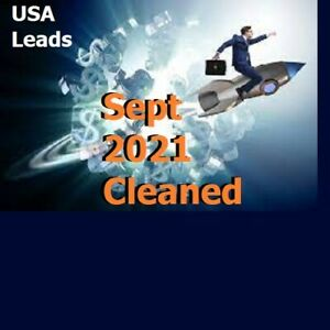Sep 2021 Opportunity Seekers 3000 Leads Usa Email Database Mlm Network Marketing