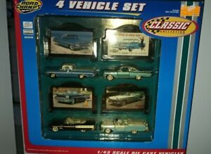 Road Champs Classic 1998 4 Vehicle Set Cars 143 Chevy Pontiac Ford