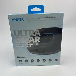 Anker Ultra Clear Portable Conference Speakerphone Bluetooth Usb A3301z11