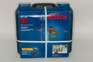 Bosch 65 360 degree Line Cross Red Laser Level Gll 2 20 Brand New With Case
