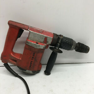 Hilti Te22 Hammer Drill in Working Condition Corded Red