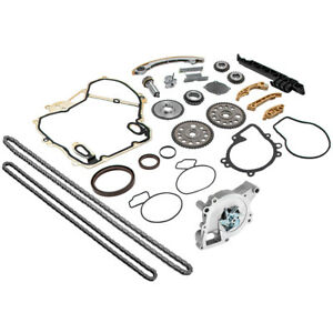 Timing Chain Kit Cover Gasket Balance Shaft Water Pump For Pontiac Grand