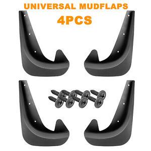 Car Mud Flaps Splash Guard Fenders For Front Or Rear With Hardware Universal Fit Fits 2001 Kia Sephia