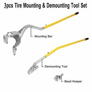Tire Changer Tire Mount Demount Tool Tools Tubeless Truck Extra Bead Keeper Us