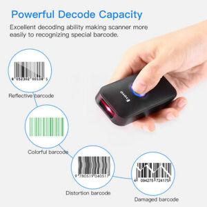 Eyoyo Bluetooth Usb Wired 2 4g Wireless 1d Laser Barcode Scanner For Android