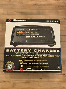Schumacher 2 10 50 Amp Battery Charger Solid State Model Se 10 52