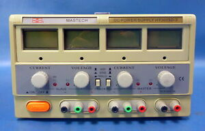 Mastech Triple Linear Power Supply Hy3005d 3 30vdc 5a 5v 3a Out Load Test