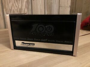 Snap On Tools 100th Anniversary Mini Micro Top Chest New In Box Gloss Black