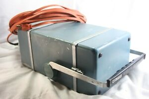 Vintage Working Tektronix Type 422 Oscilloscope With Case And Leads 40ft Cord