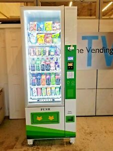 Combo Vending Machine With 1 Year Warranty Tvc America