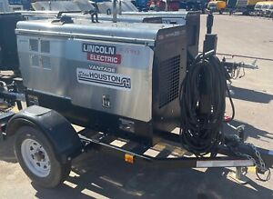 Lincoln Electric K2409 5 rp1 Towable Welder generator Only 141 Hours