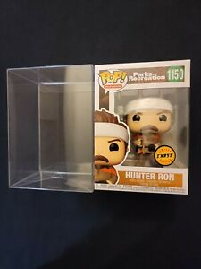 Hunter Ron Swanson Chase Funko Parks And Recreation 1150 Protector
