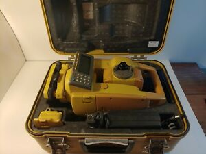 Topcon Gts 605 5 Total Station Surveying New Battery Case Charger