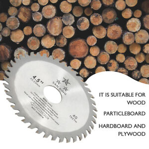 115mm 40t Circular Wood Saw Blades Discs Plunge Cutting Angle Grinder Tools T
