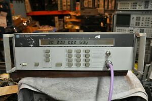 Hp agilent 5350b Microwave Frequency Counter 10hz 20 Ghz Option 001