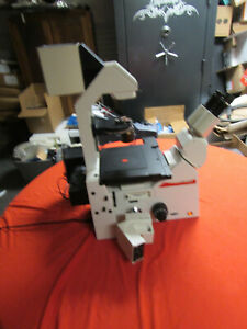 Leica Dmirb Inverted Phase Contrast Microscope With 4 Objectives