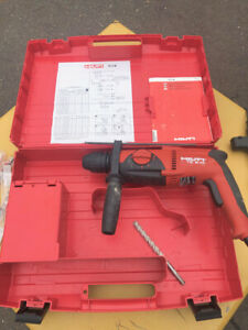 Hilti Te 2m Rotary Hammer Drill Case 2 Gears Light Residential Use