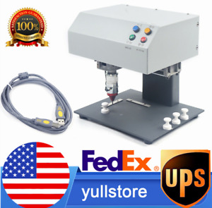 Automatic Marking Machine Metal Label Stamping Printer 10mm Lifting Height Us