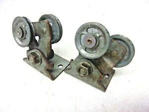 Willys Jeep Wagon Truck Windsheild Wiper Cable Tension Pulleys Free Ship